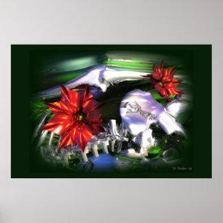 Dorn-Blumen Posterdruck