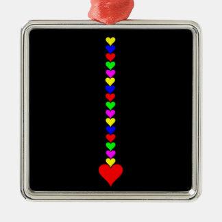 Dorn der Herzen durch Janbalaya Silbernes Ornament
