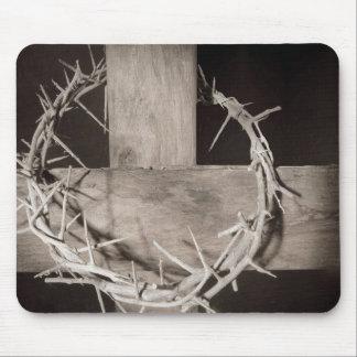 Dornen der Christus-Mausunterlage Mousepad