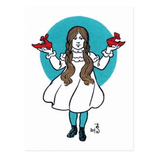 Dorothy: Der wunderbare Zauberer von Oz Postkarte