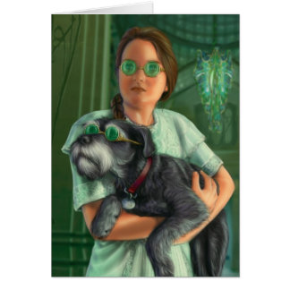 Dorothy in der Smaragdstadt Karte