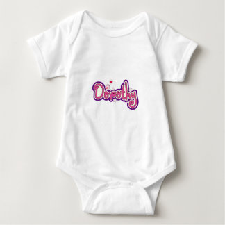 Dorothy-Namenspersonalisiertes Baby Strampler