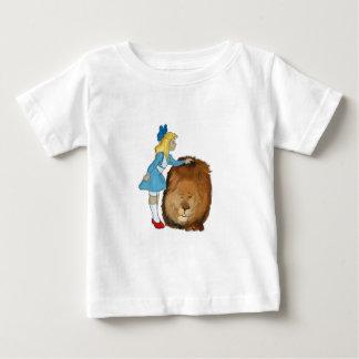 Dorothy und der Löwe Baby T-shirt