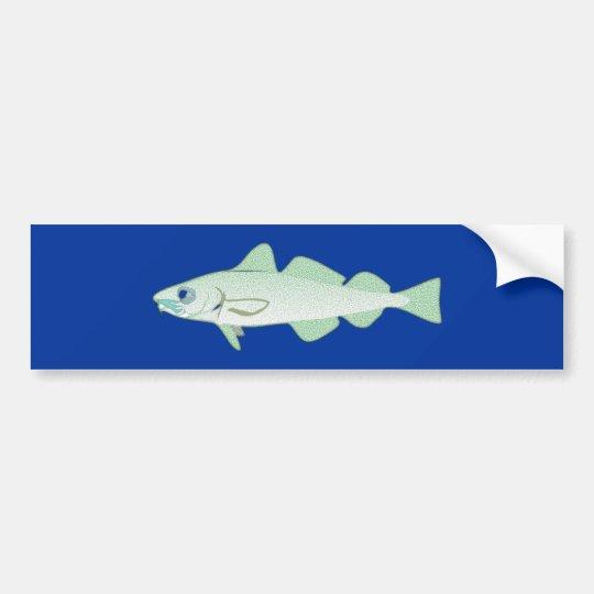 Dorsch codfish Fisch fish Autoaufkleber