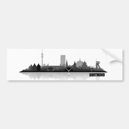 Dortmund City Skyline Auto Sticker