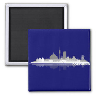 Dortmund City Skyline Kühlschrankmagnet