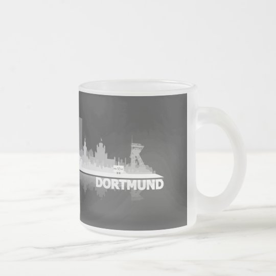 Dortmund City Skyline Tasse