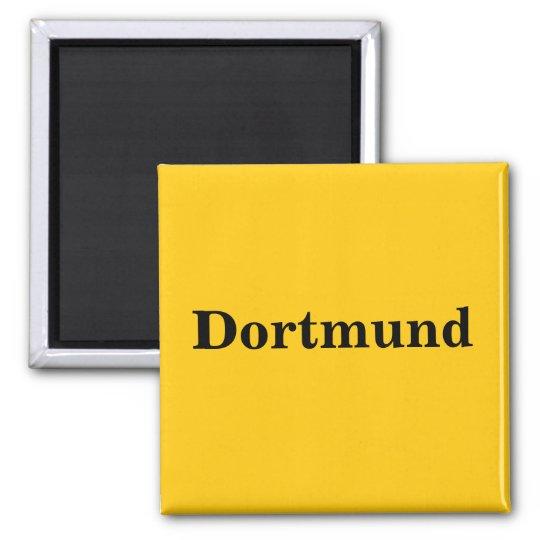Dortmund Schild Gold - Gleb - Magnet