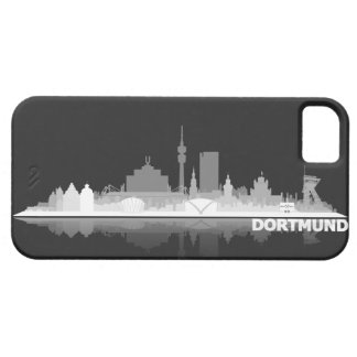 Dortmund town center of skyline iPhone4 covering Barely There iPhone 5 Hülle