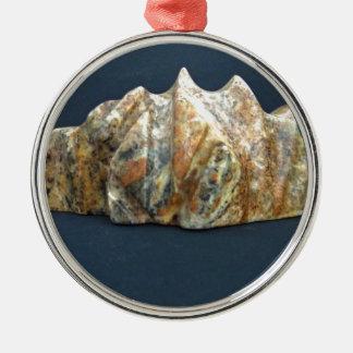 Dösender Dinosaurier Silbernes Ornament