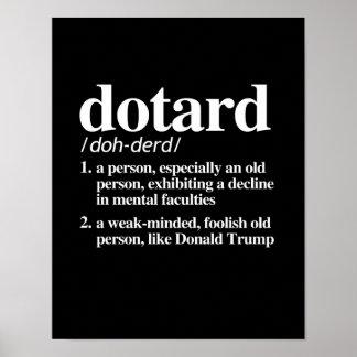 Dotard-Definition Poster