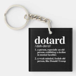 Dotard-Definition Schlüsselanhänger