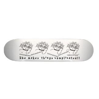 DotComplicated (TM) - sie macht die erschwerten Skateboarddecks