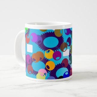 Dots and gears Jumbo-Mug