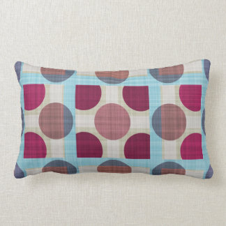 Dots and Squares in the Retrostyle Kissen
