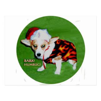 Dott Barken-Humbug Postkarte