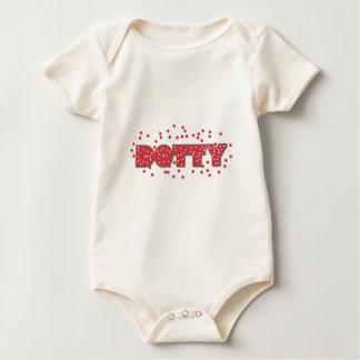Dotty Baby Strampler