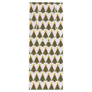dotty Weihnachtsbaum-Geschenktasche hoch Geschenktüte Für Weinflaschen