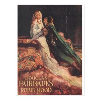 Douglas Fairbanks als Robin Hood Postkarte