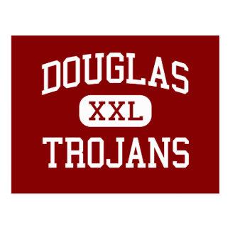 Douglas - Trojan - Highschool - Winston Oregon Postkarte