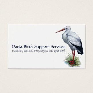 Doula Geburts-Beistandsservices Visitenkarte