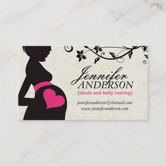 Doula Hebamme Und Bauch Casting Visitenkarten Visitenkarte