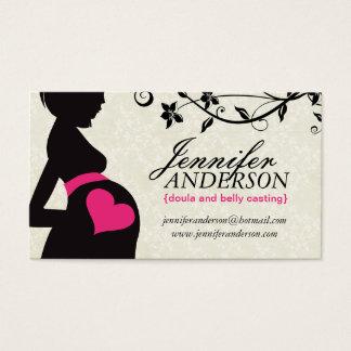 Doula, Hebamme-und Bauch Casting-Visitenkarten Visitenkarte