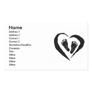 Doula Hebamme-Visitenkarte Visitenkarten