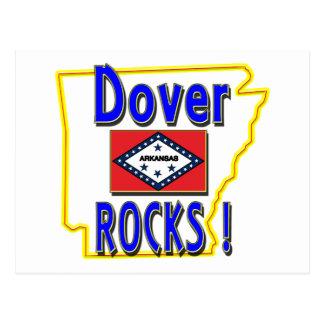 Dover-Felsen! (Blau) Postkarte