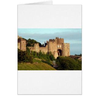 Dover-Schloss, England, Vereinigtes Königreich 3 Karte