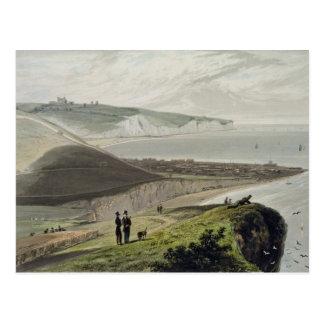Dover, von Shakespeares Klippe, von 'einer Reise Postkarte