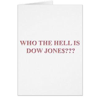 DOW JONES KARTE