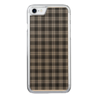 Dowglass Tartan Carved iPhone 8/7 Hülle