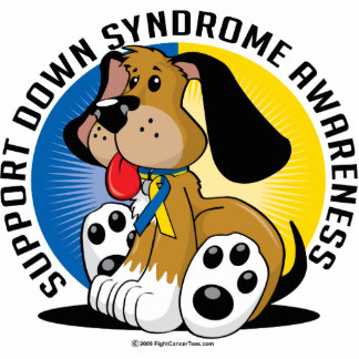 Down-Syndrom Hund Photo Skulpturen