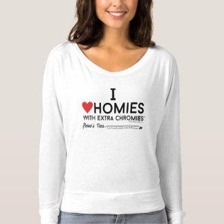 Down-Syndrom - i-Liebe homies w/extra chromiesTM T-shirt