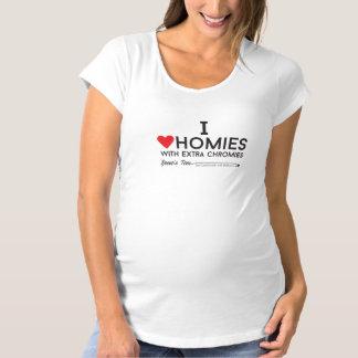 Down-Syndrom: Liebe I homies mit ExtrachromiesTM Schwangerschafts T-Shirt