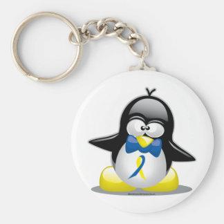 Down-Syndrom Pinguin Schlüsselbänder