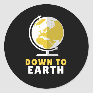 Down to Earth Sticker