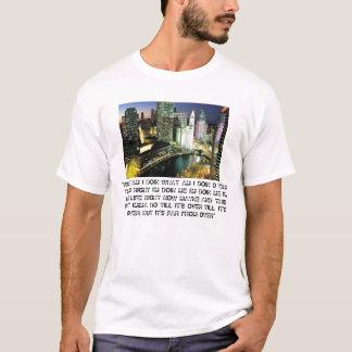 """DowntownChicagoILatNight, """"WAS SIND ICH DOIN, WAS… T-Shirt"""