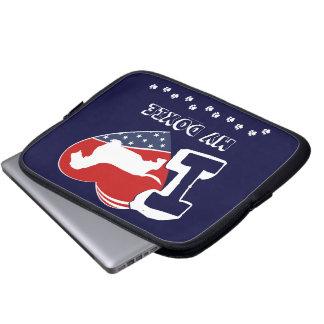 Doxi [Draht behaart] Laptopschutzhülle