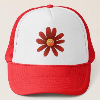 Dozy Gänseblümchen Red Hat Truckerkappe