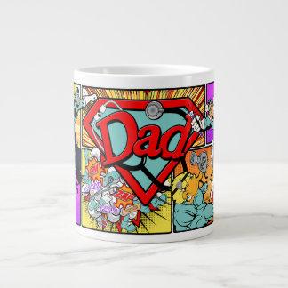Dr. Dad Superhero Jumbo-Tasse