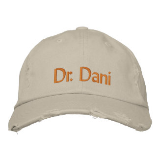 Dr. Dani Bestickte Baseballkappe