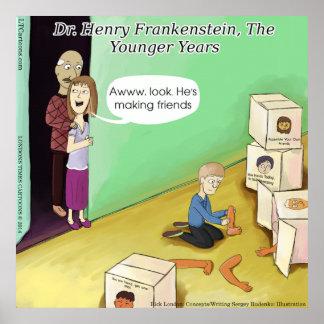 Dr. Henry Frankenstein Funny Poster