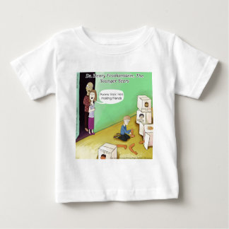 Dr. Henry Frankstien Youthful Years Baby T-shirt