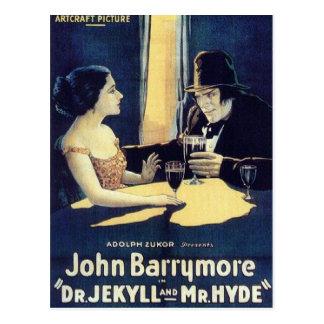 """Dr. Jekyll u. Postkarte Herr-Hyde"""