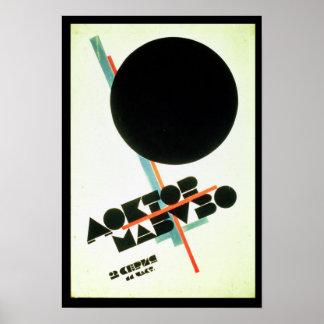 Dr. Mabuso, 1922 Poster