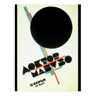Dr. Mabuso, 1922 Postkarte