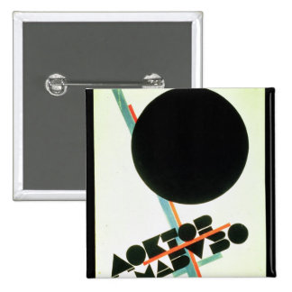 Dr. Mabuso, 1922 Quadratischer Button 5,1 Cm