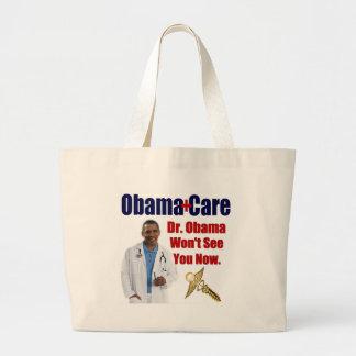 Dr. Obama sieht Sie nicht jetzt Leinentasche